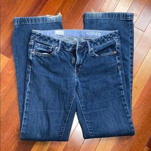 GAP long & lean bootcut jeans